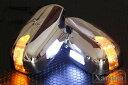 ハイエース 200系 レジアスエース LED ドアミラーウインカー/ミラーカバー クロームメッキ AVEST Xanadu