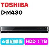 D-M430 TOSHIBA 東芝 REGZAサーバー タイムシフトマシン搭載ハードディスクレコーダー HDDレコーダー DM430