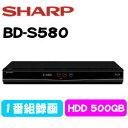【最大クーポン1200円OFF】SHARP BD-S580 AQUOS ブラック系 シャープ ブルーレイレコーダー 500GB BDS580