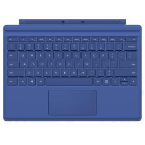★Microsoft QC7-00072 Surface Pro 4 タイプ カバー ブルー タブレット 日本語キーボード