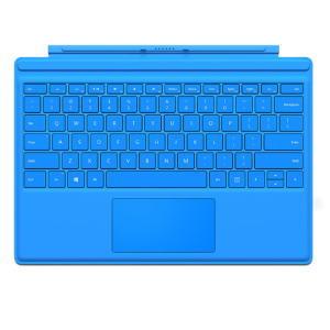★Microsoft QC7-00071 Surface Pro 4 タイプ カバー シアン タブレット 日本語キーボード