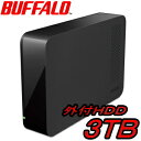 BUFFALO DriveStation 外付ハードディスク 3TB HD-LC3.0U3-BK Windows10対応 USB3.0