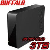 BUFFALO DriveStation 外付ハードディスク 3TB HD-LC3.0U3-BK Windows10対応 USB3.0