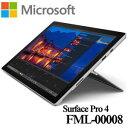 ★マイクロソフト FML-00008 Surface Pro 4 Core-M 128GB 4GB ペン非同梱モデル WindowsタブレットOffice付き12.3型 2017年モデル シルバー キーボード別売