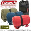 ★Coleman コールマンカーキー色 フリース スリーピングバック/SLEEPING BAG フリ