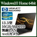 ★HP 1PM36PA-AAAA HP Spectre x360 13-ac000 スタンダードプラスモデル Windows10 Corei7 16GBオンボード SSD 1TBGB 13.3インチワイド..