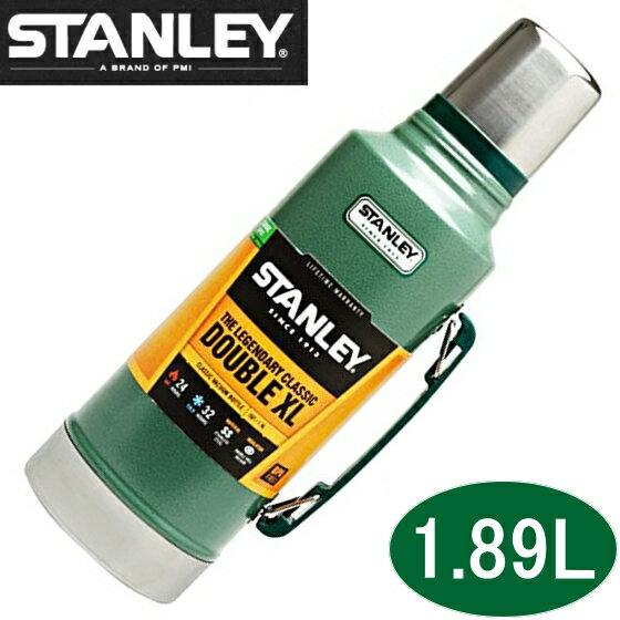 【新品】STANLEY Classic Vacuum Bottle スタンレー クラシック 真空 ボトル 1.9L STANLEY コップ付き ステンレス 保冷 保温 大容量 メンズ マイボトル マイ水筒 ミリタリー 保温ポット 2L マイボトル CLASSIC VACUUM BOTTLE 1.9L/グリーン スタンレー 水筒 1.89