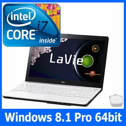 【新品】【MS Office搭載】PC-LS700RSW エクストラホワイト NEC LaVie S LS700/RSW Windows8/Core...