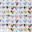 リバティプリント 生地 Marble Hearts 3636192-16A 【数量×50cm単位】