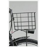 ブリヂストン ハイディビー HYDEE.B専用フロントバスケット ブラック BK-HDB【02P24Feb14】