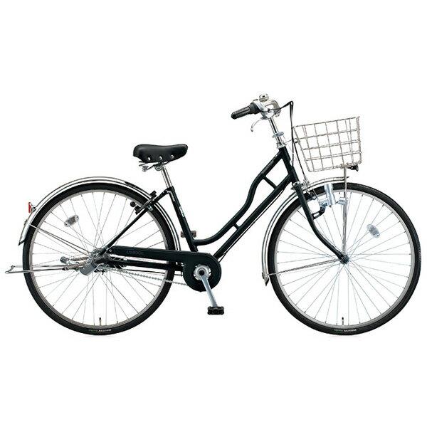 【4/22 10時までスマホエントリーで全品ポイント10倍】ブリヂストン(BRIDGESTONE) シティサイクル エブリッジH型 DXモデル DH705 E.Xブラック 27インチ 変速なし ダイナモランプ【2015年モデル】【完全組立済 自転車】 【専門スタッフがていねいに組立調整して梱包します・老舗の店・1999年から出店】