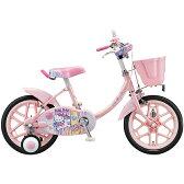 ブリヂストン(BRIDGESTONE) ハローキティ 16インチ KT16S3 ピンク 少女車 【完全組立済 自転車】