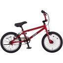 ミヤタ(MIYATA) 子供用自転車 AIR COBRA CAC1651 レッド 16インチ【2016年モデル】【完全組立済 自転車】