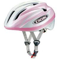 OGK KABUTO 子供用ヘルメット J-CULES2 P.ホワイトピンクの画像