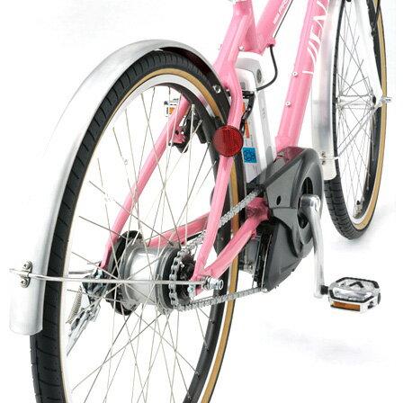 メーカー純正品正規代理店品ヤマハPASVIENTA専用フェンダー(前後)シルバー自転車用品