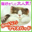 かわいい猫型マウスパッド メロディ [ヘンリーキャットHenryCats&Friends]【DM便(旧メール便)・ネコポス・ゆうパケット対応】【RCP】【はこぽす対応商品】【コンビニ受取対応商品】【wsp10x】 532P15May16