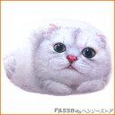 猫型クッション オリビア◆TVを見たりゴロ寝枕にお供してくれる大きなクッション♪