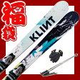 【スキー福袋】 スキー4点セット クリント ロッカースキー KLINT KARVER2 147/157/167/177 メンズ レディース ロッカー 金具付き【送料無料】【RCP】