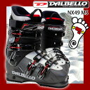 ダルベロ スキーブーツ DALBELLO NX49 MS メンズ 25.5/26.5/27.5/28.5/29.5/30.5【RCP】【メール便不可・宅配便配送】