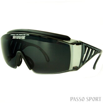 SWANS over glass OG-1-0051 polarization smoke ◆ swans sunglasses