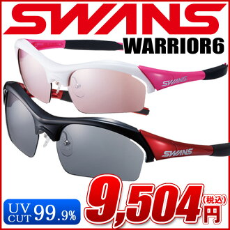 SWANS WARRIOR6-BM WA6-0709 W/PI ◇ WARRIOR6 ◆ mirror lens model ♪ swans sunglasses fs3gm