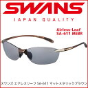 スワンズ スポーツサングラス SWANS サングラス Airless-Leaf SA-611 MEBR メンズ レディース 人気 【RCP】【楽天BOX・はこぽす】【は…