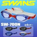 スワンズ スイミングゴーグル SWANS SW-700N (SR-700N) デザイナースタイル メンズ【DM便(旧メール便)・ネコポス・ゆうパケット対応】