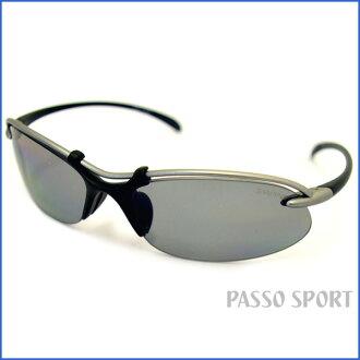 SWANS SA-501 mat titanium silver X mat black ◆ swans fs3gm