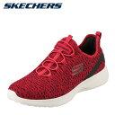 鞋子 - スケッチャーズ SKECHERS スニーカー 58357 メンズ靴 靴 シューズ 4E相当 ランニングシューズ ゴム紐 ローカット 幅広 低反発 伸縮性 スポーツ ジム レッド SP