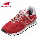 ニューバランス new balance ウォーキングシューズ ML574ERDD メンズ靴 靴 シューズ D相当 ローカットスニーカー 本革 574 レトロ おしゃれ 大きいサイズ対応 28.0cm チームレッド SP