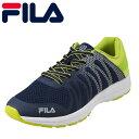 フィラ FILA メンズ靴 FCY-2205 スニーカー 靴 シューズ 3E相当 ローカットスニーカー レースアップ スポーツ フィット感 クッション性 大きいサイズ対応 28.0cm ネイビー SP