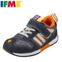 イフミー IFME スニーカー 30-8711 キッズ靴 靴 シューズ 3E相当 キッズ スニーカー 軽量 子ども 男の子 女の子 反射材 リフレクター 幅広 履きやすい かわいい ネイビー SP