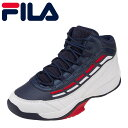 フィラ FILA スニーカー FC-4901 メンズ靴 靴 シューズ 3E相当 バスケットシューズ バッシュ Spitfire ミッドカット ハイカットスニーカー 大きいサイズ対応 28.0cm トリコロール SP