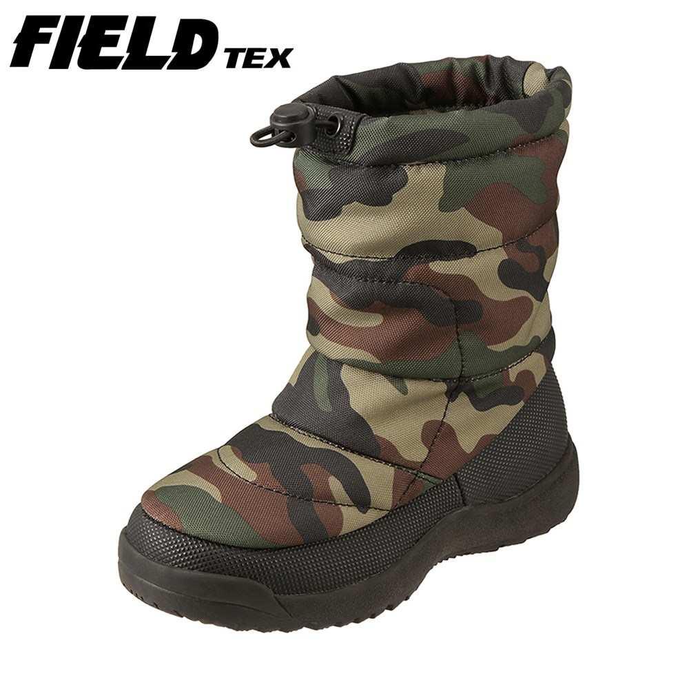 フィールドテックスFIELDTEX長靴・レインシューズFT-124SPキッズ靴靴シューズ3E相当ダウ