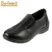 [バイオフィッターレディース] Bio Fitter BFL-009 レディース | ウォーキングシューズ | スリッポン | サイドゴア 散歩靴 | 大きいサイズ対応 25.0cm | ブラック