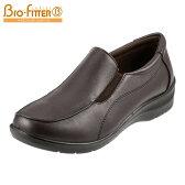 [バイオフィッターレディース] Bio Fitter BFL-009 レディース | ウォーキングシューズ | スリッポン | サイドゴア 散歩靴 | 大きいサイズ対応 25.0cm | ダークブラウン
