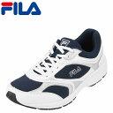 フィラ FILA スニーカー FL-3243M ハイモーションRAP メンズ靴 靴 シューズ 3E ランニングシューズ スポーツ スニーカー ローカット カジュアル ウォーキング ジョギング ジム 軽量 軽い ゆったり クッション性 衝撃吸収 ネイビー×ホワイト SP