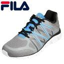 【期間限定価格】フィラ FILA スニーカー FCY-2204 メンズ靴 靴 シューズ ローカットスニーカー スポーツ ジム 運動 衝撃吸収 大きいサイズ対応 28.0cm グレー×ブルー TSRC