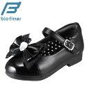 バイオフィッター 753 Bio Fitter フォーマル靴 BF-3020 キッズ 靴 靴 シューズ 2E相当 フォーマルシューズ 屈曲性 抗菌 防臭 サイズ調整可能 ブラック TSRC