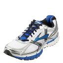 [ブルックス] BROOKS MEN GTS 14 (177) 1101581D177 メンズ | ランニングシューズ | ジョギング トレーニング | 軽量 クッション性 | ブランド 人気 | ホワイトxシルバー