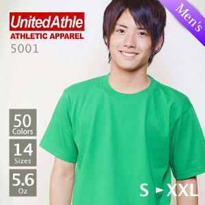 UnitedAthle(��ʥ��ƥåɥ�����)��Ⱦµ̵�ϣԥ����5.6oz.���֥롼�������S��XL
