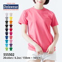 【deslawear(デラウェア) | 6.2オンス Tシャツ 555502】【10P03Dec16】