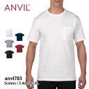 【Anvil(アンビル) | アダルト ミッドウエイト ポケットTシャツ anvl783】【10P03Dec16】
