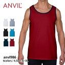 【Anvil(アンビル) | アダルト ライトウエイト タンクトップ anvl986】【10P03Dec16】