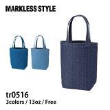 MARKLESS STYLE(マークレススタイル) デニムトート(M) tr0516