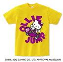 【3,000円以上で送料無料】ハローキティダンスTシャツ スケボー DKS-0016
