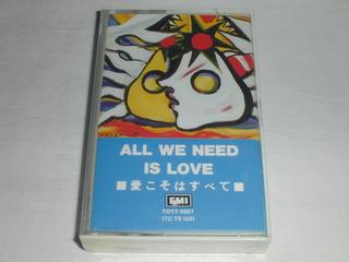 (カセットテープ)ALL WE NEED IS ...の商品画像