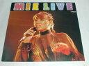 (LP)MIE LIVE 【中古】