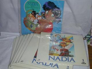 (LD)ふしぎの海のナディア 全10巻セット