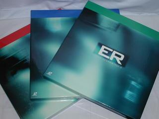 (LD:レーザーディスク)ER緊急救命室 サードシーズンVOL.1〜3 3BOXセット【中古】